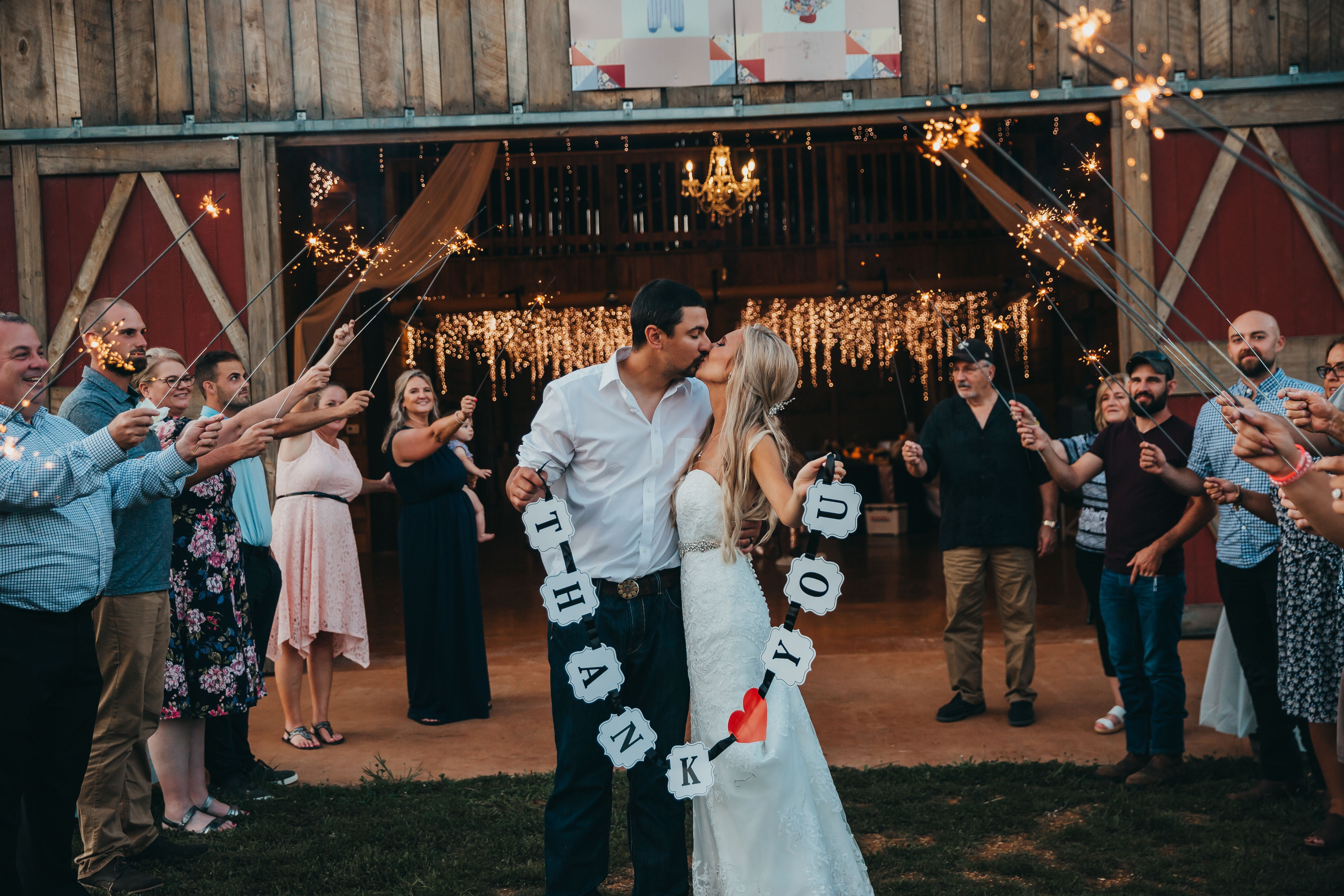 Whether You Choose To Have A Small Intimate Wedding Or A Large Celebration For The World To See Our We In 2020 Small Intimate Wedding Wedding Sparklers Long Sparklers