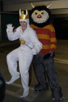 coolest homemade max and carol couple costume - Max Halloween Costume Where The Wild Things Are