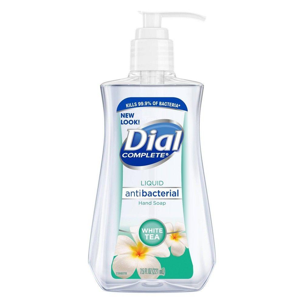 Dial White Tea Liquid Hand Soap Gel 7 5oz White Tea Liquid Hand Soap Soap