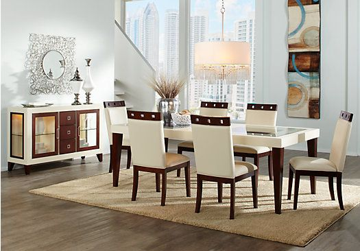 shop for a sofia vergara savona 5 pc dining room at rooms on rooms to go dining room furniture id=89515