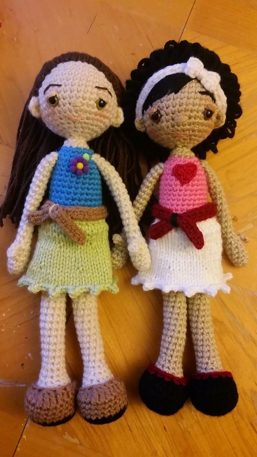 Make It: Fashion Dolls - Free Crochet Pattern #crochet #amigurumi ...