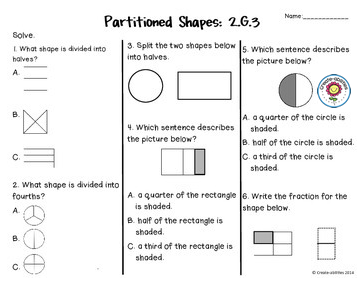 photo about 2nd Grade Assessment Test Printable named Pin upon Geometry