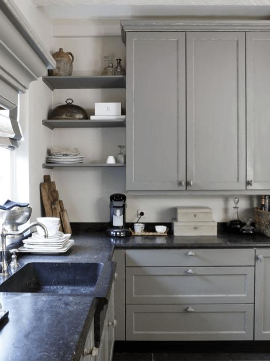 10 cuisines coup de coeur en camaïeu de gris ! - Decocrush