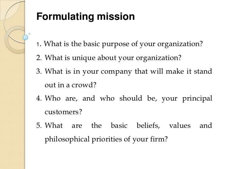 Mission Statement Example For School Google Search Personal Ethical