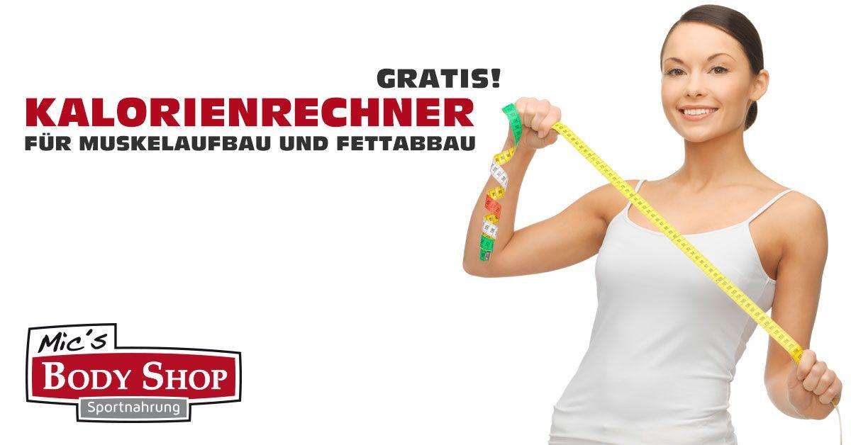 GRATIS Kalorienrechner von Mic's Body Shop..