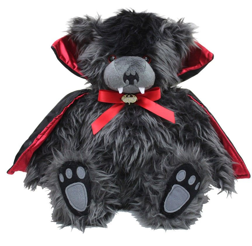 Ted the Impaler - Peluche gothique - Ours vampire