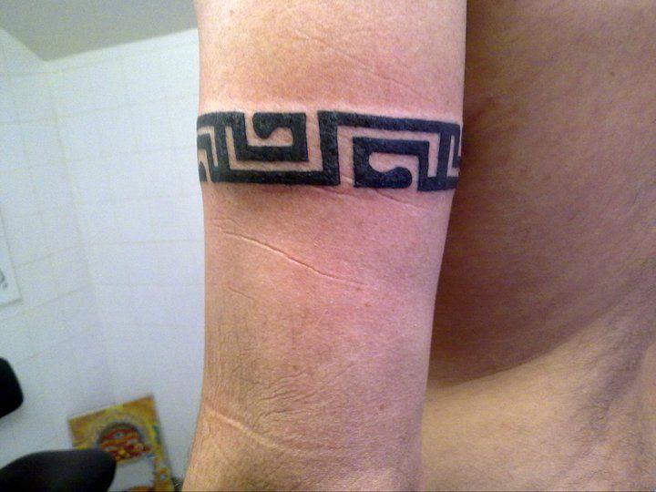 Tattoo Tatouage Maori Tribal Polynesien Tour De Bras Maori