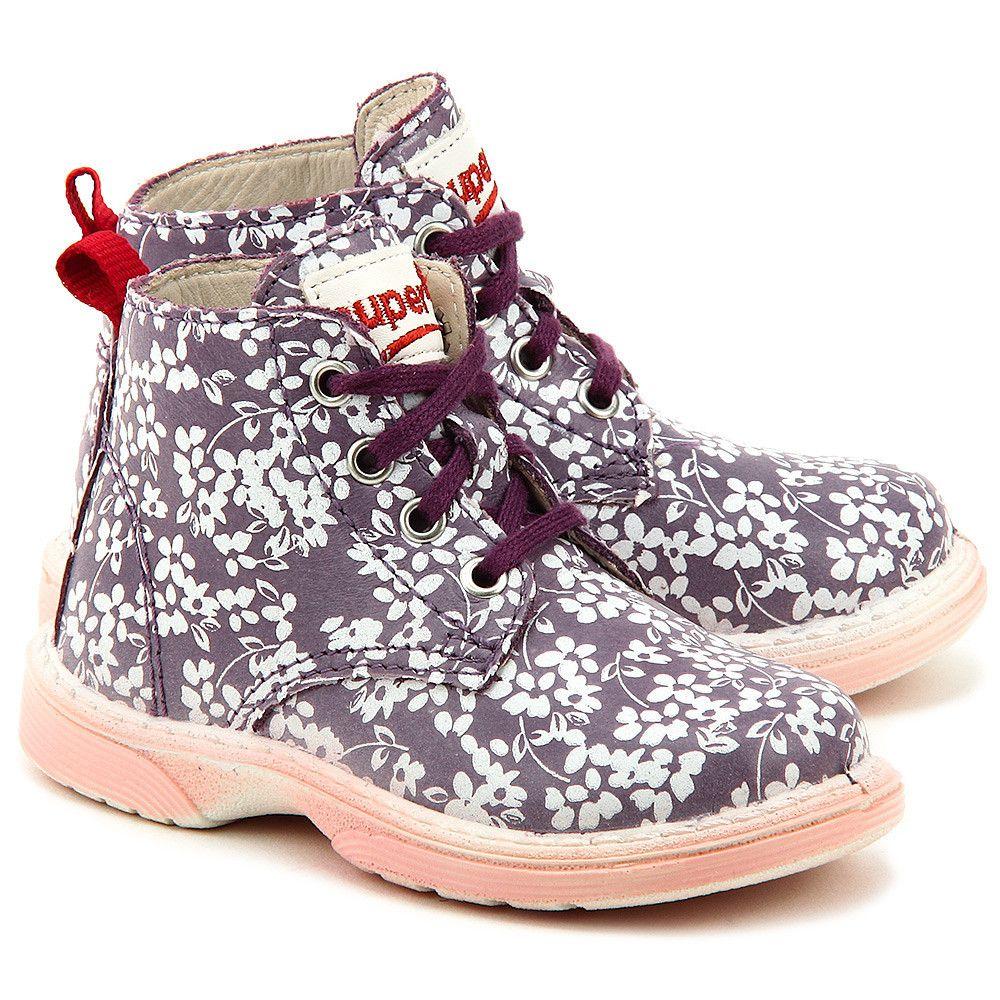 Superfit Softbubble Fioletowe Skorzane Trzewiki Dzieciece 4 00310 77 Skorzane Buty Shoes