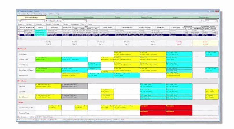 EventPro Software Event management system, Event
