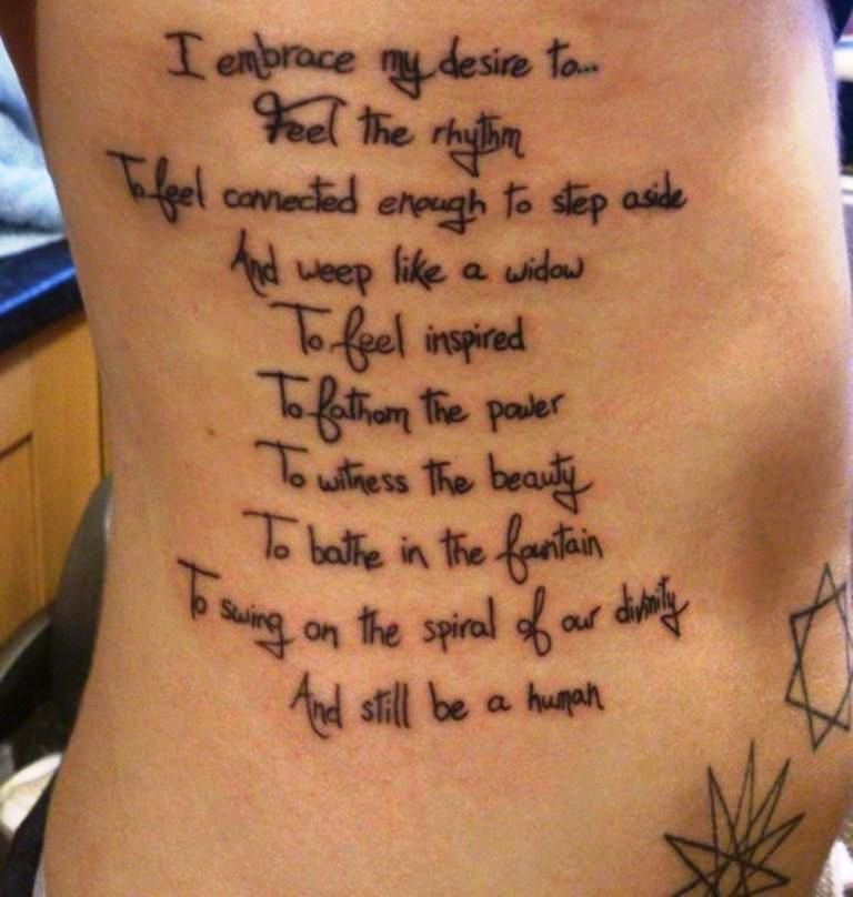 Meaningful Tattoo Quotes For Men