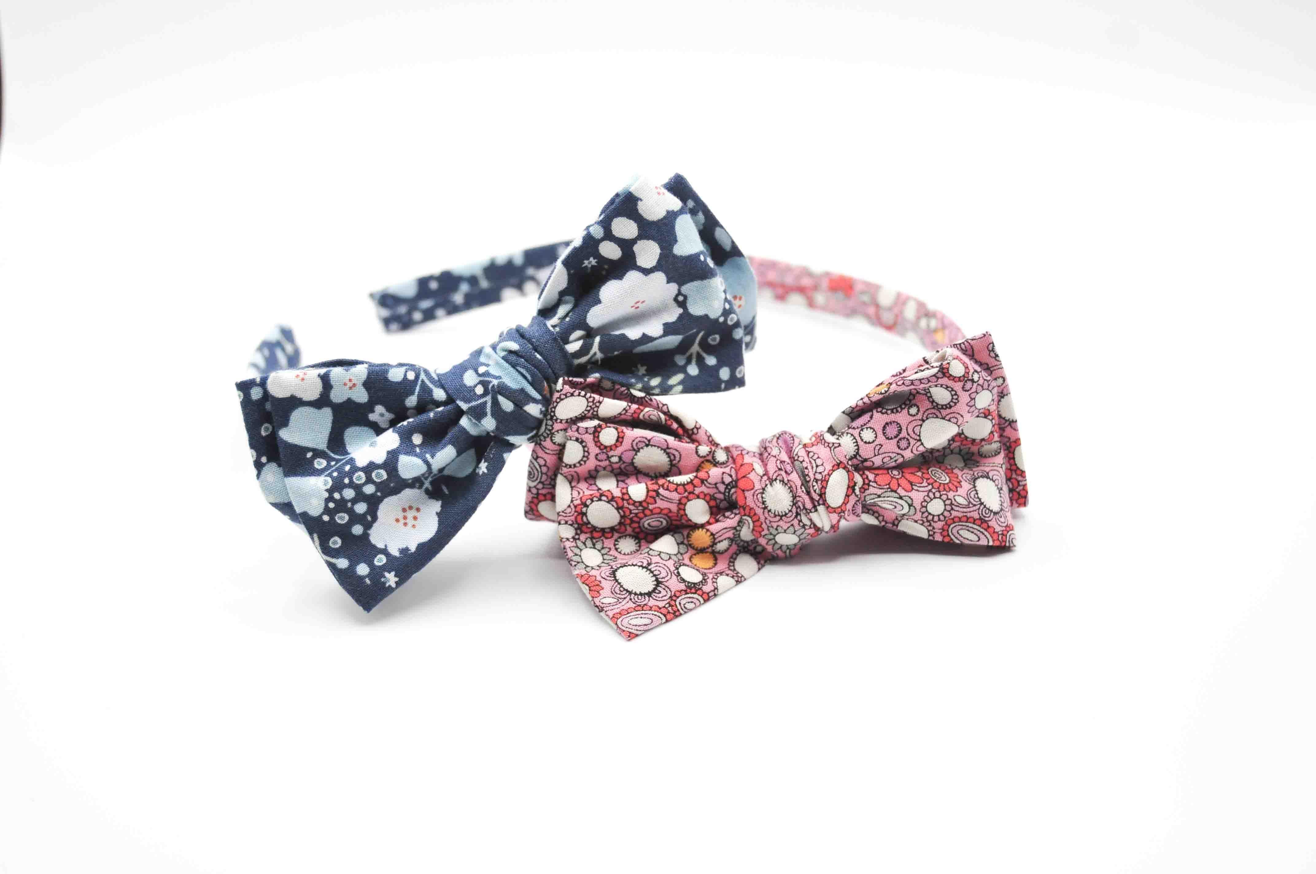 Felicity Bow Headbands - Funky Floral