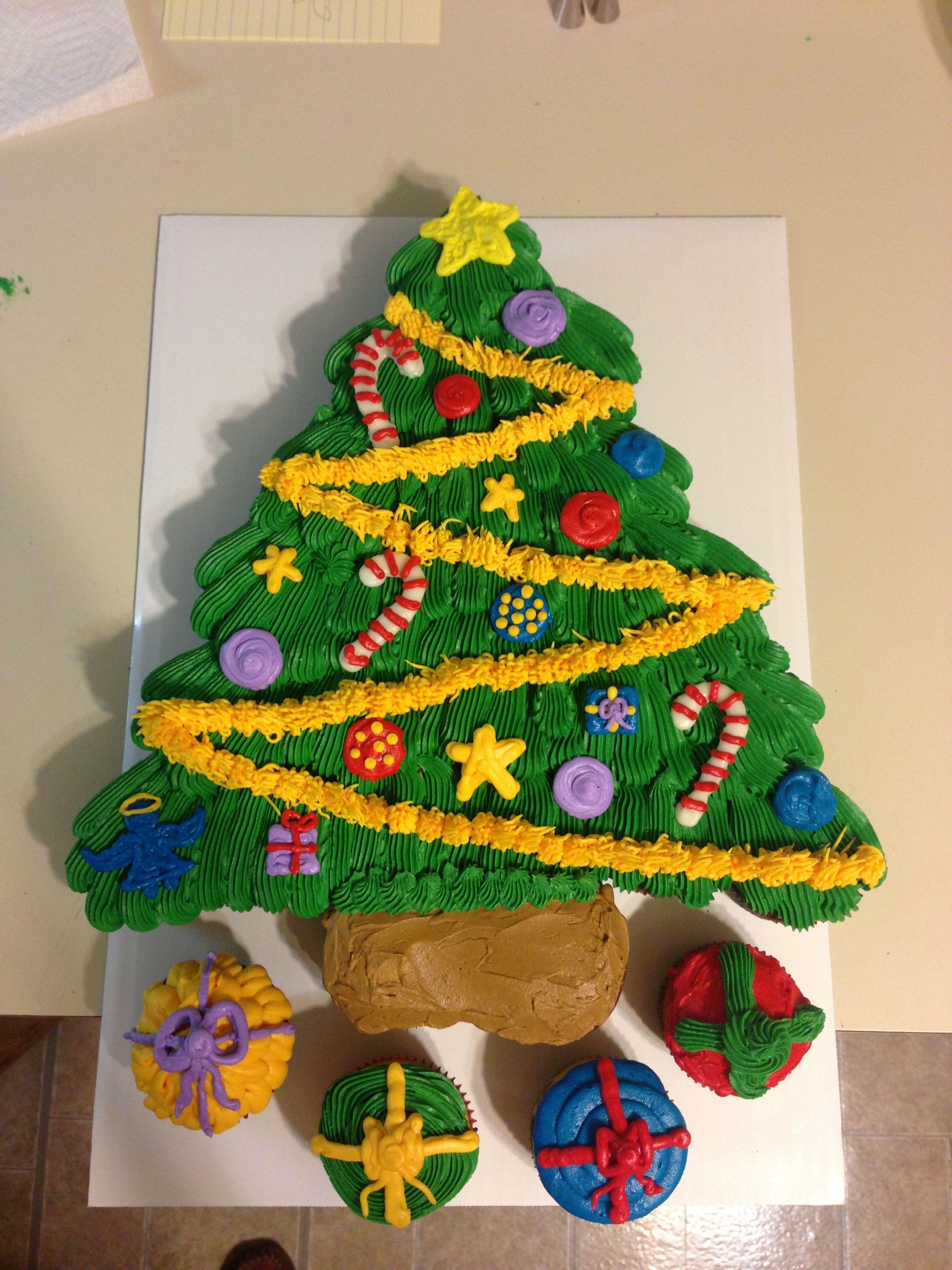 how to make a cupcake tree