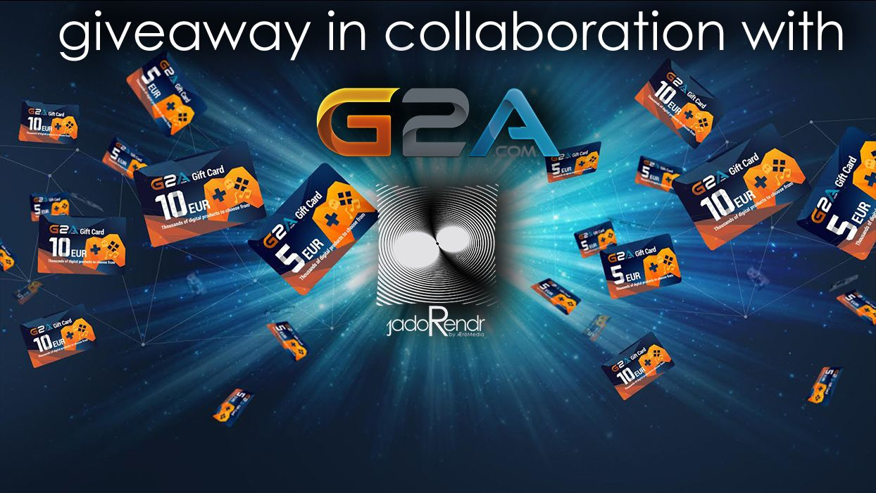 Giveaway try to win 210 eur g2a giftcard more http
