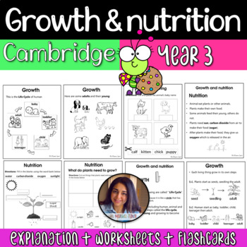 Growth and Nutrition - Cambridge Primary Science Y