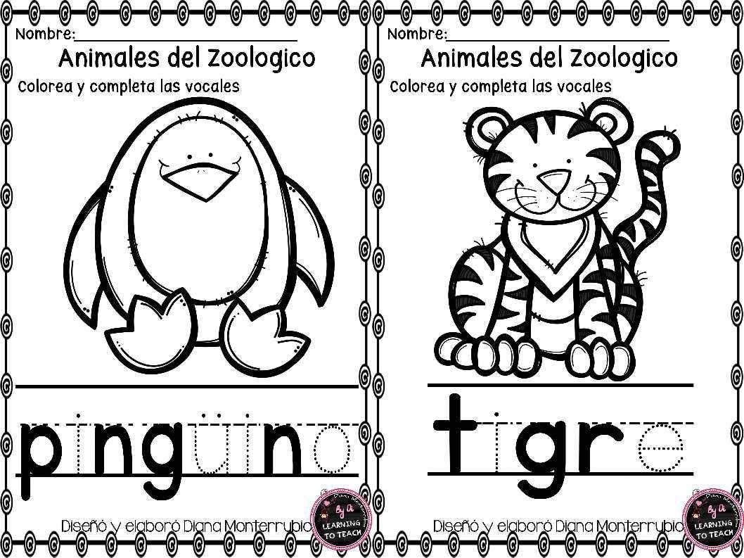 ACTIVIDADES-ANIMALES-DE-ZOOLOGICO-2.jpg (1058×793)   Espanol ...