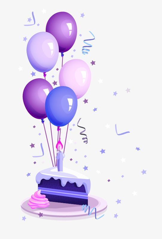 Birthday Balloons Transparent Background Birthday Cake, Cake Clipart, Birthday Clipart, Birthday