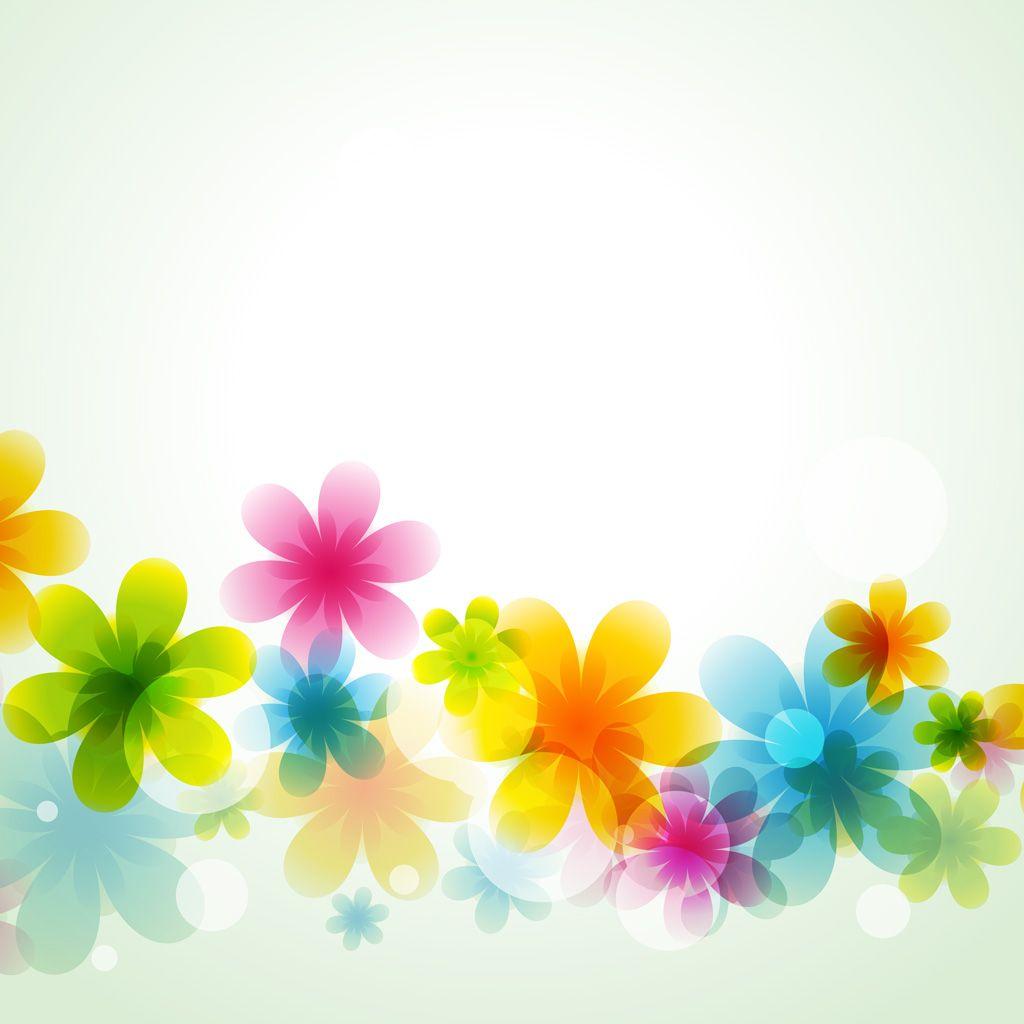 2018 年の「[フリーイラスト素材] イラスト, 背景, 植物, 花, カラフル