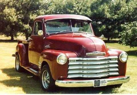 1953 chevy truck for sale | 1953 Chevrolet Deluxe 5 Window 3100 Pick Up Truck For Sale
