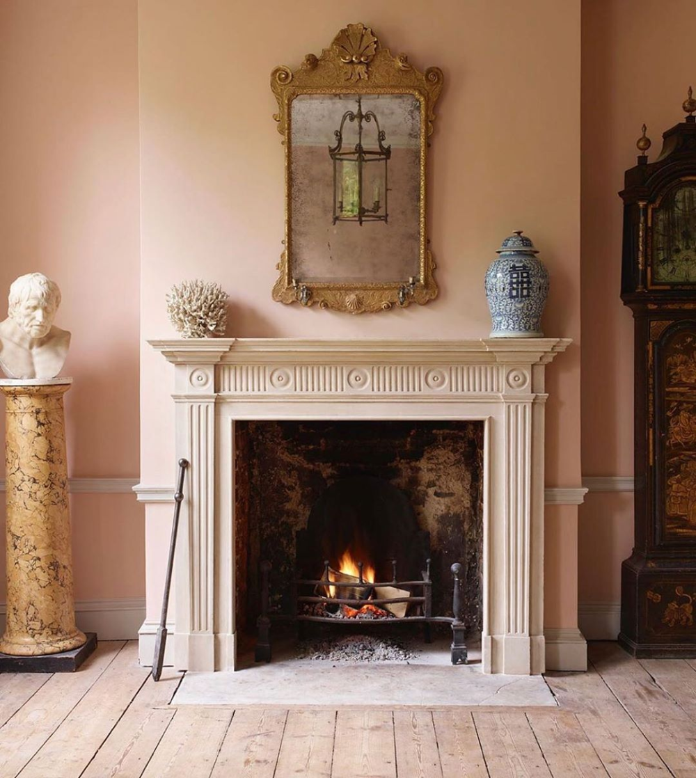 Anglophileclub The Stunning Milton Reproduction Fireplace By Jamb