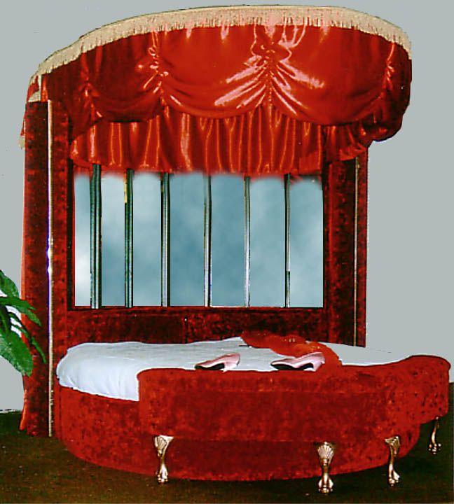 Custom Heart Shaped Bed