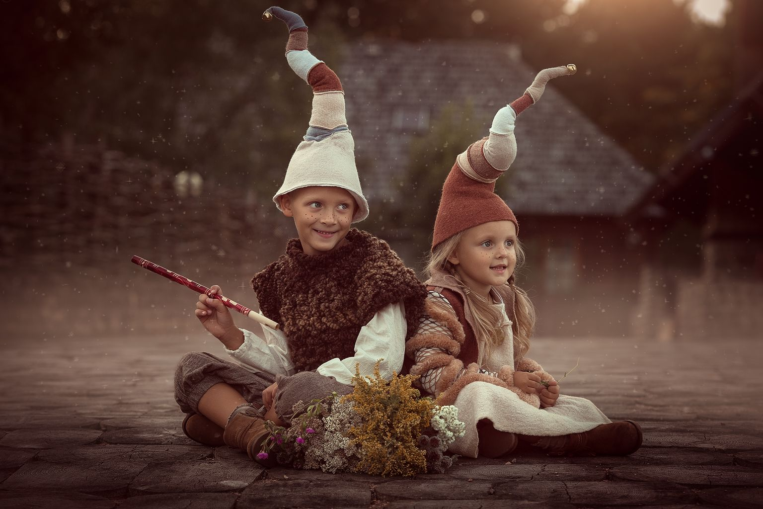 фотосессия с детьми сказка можно использовать