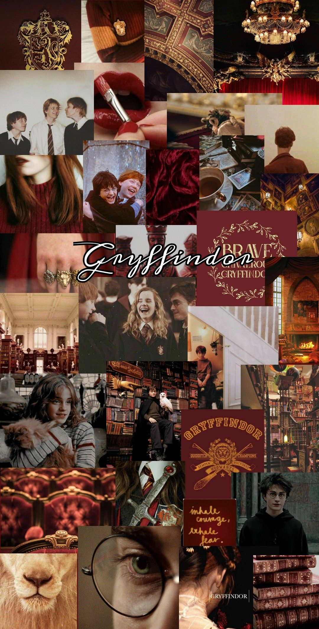 Gryffindor Aesthetic Wallpaper Harry Potter Images Harry Potter Background Harry Potter Scene