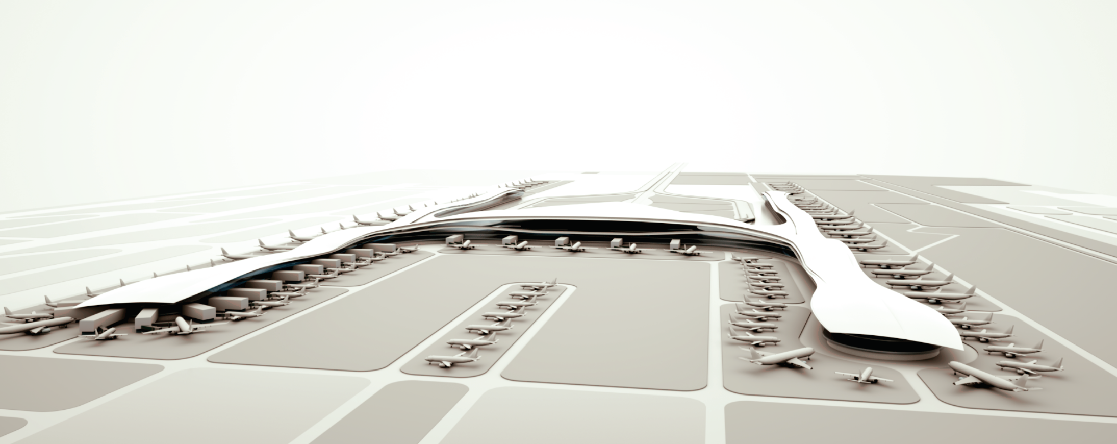 Hks Architects Airport Design Architecture Design Research