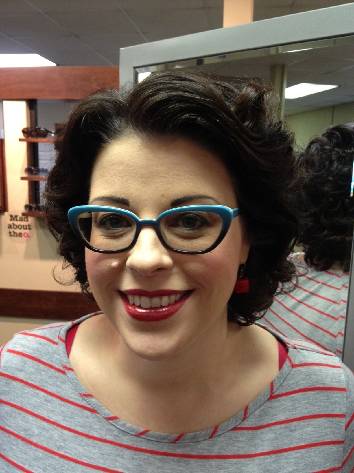 b24b81076b Temple is wearing the LA Eyeworks Magpie. She has a very strong ...