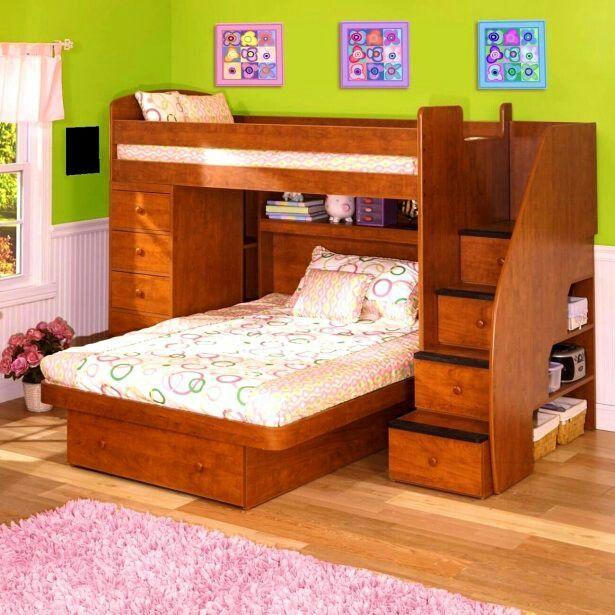 Space Saving Bedroom Furniture Fair Sisters Bedroom  Room Goals  Pinterest  Sister Bedroom Design Ideas