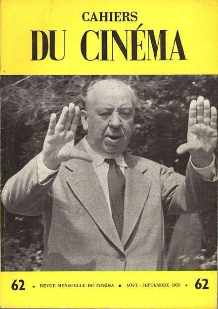 Resultado de imagen para CAHIERS DU CINEMA HITCHCOCK