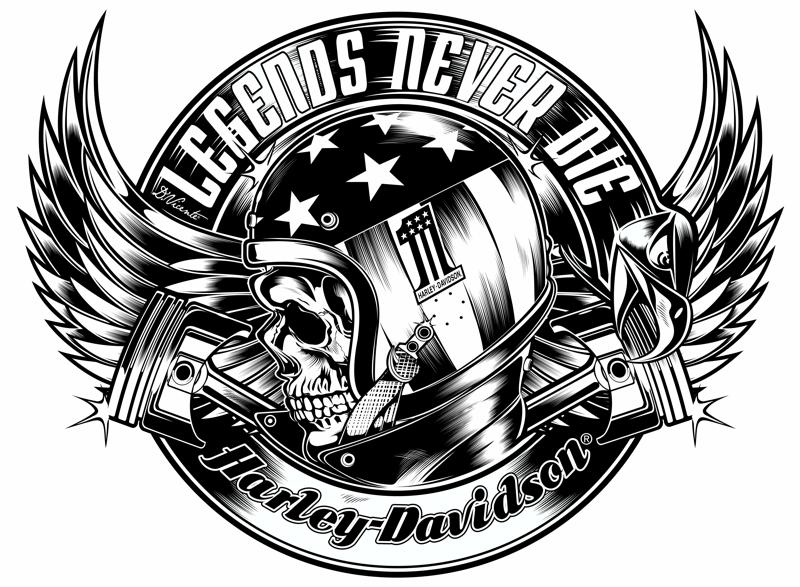 TShirts Designs HarleyDavidson USACopyright Harley