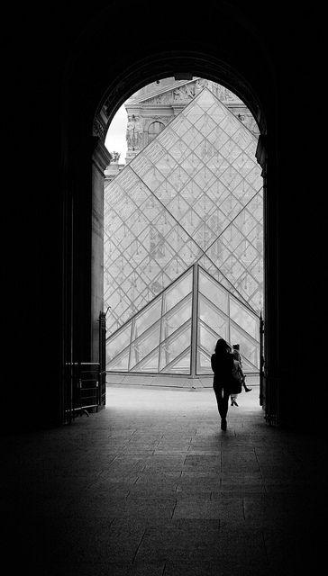 Louvre-entrance, Paris