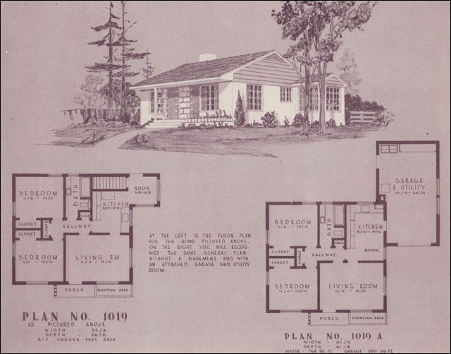 1948 Home Building Plan Service - 1019 - This tiny 800 sf plan comes Home Building Plan Service on subdivision development plans, home building organization, home building advice, home building construction, home building techniques, home building progress, home additions, home building costs, construction plans, home building samples, home building forms, home building planner, home building clip art, home building products, home building kits, home building budget, home building ideas, home building tips, home building blueprint, home building terms,