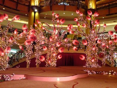 Chinese New Year Decoration Sunway Pyramid With ...