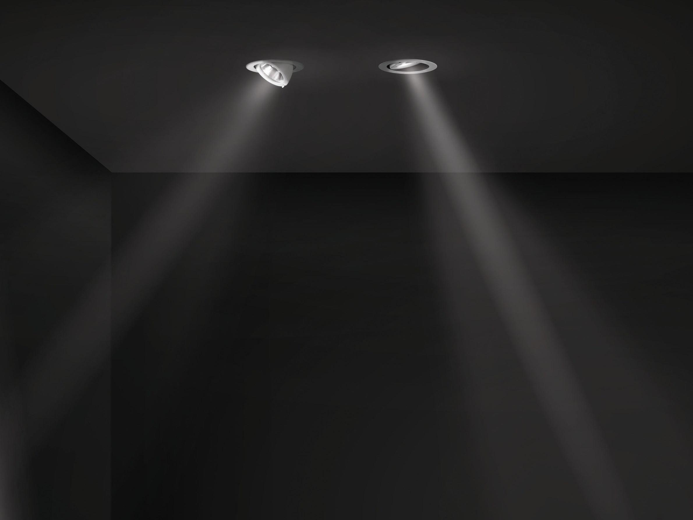 Faretto a led orientabile a soffitto pixel plus by iguzzini