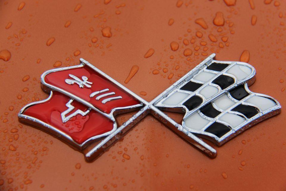 C3 Corvette Emblem