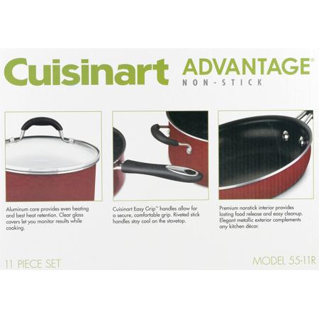 NEW Cuisinart Advantage 1.5 qt saucepan with cover Non Stick