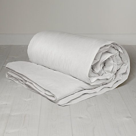 John Lewis Superior Siberian Goose Down Duvet Tog All Seasons From Our Duvets Range At Free Delivery On Orders Over