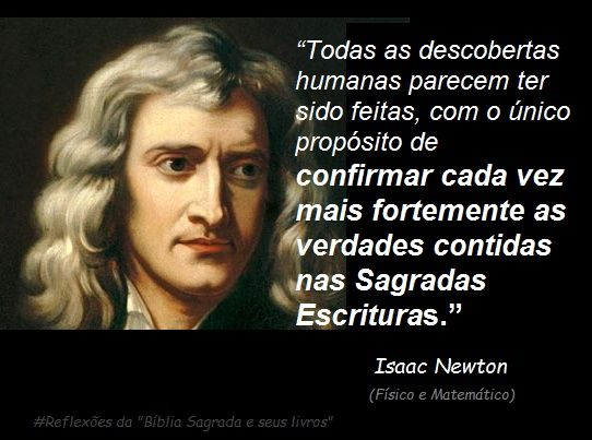Reflexões Da Bíblia Sagrada E Seus Livros Isaac Newton Todas As