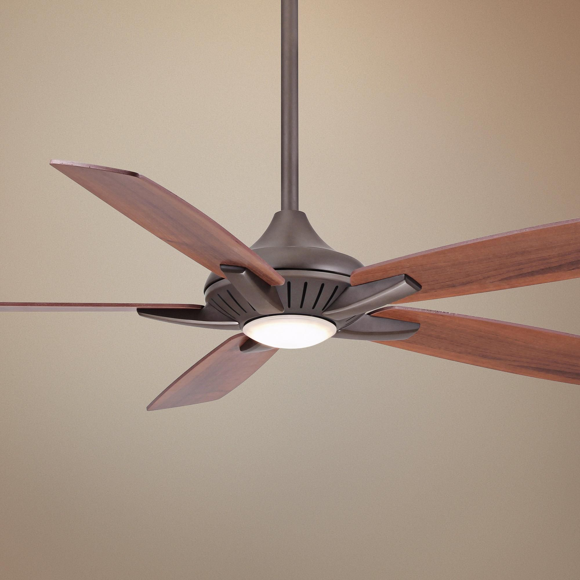 "52"" Minka Aire DYNO OilRubbed Bronze Ceiling Fan 4T454"