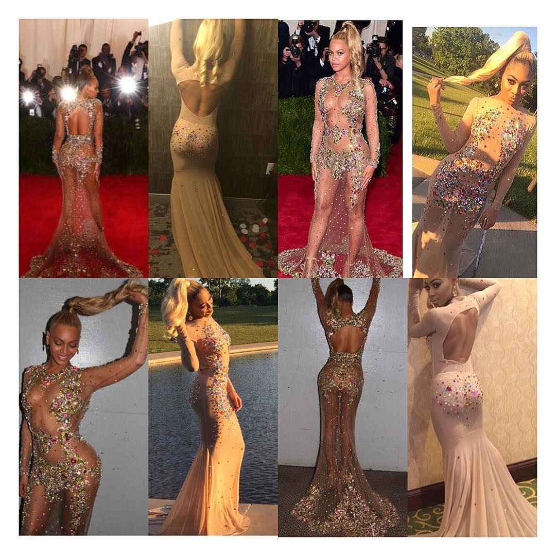 For prom high school student India Ross turned to #Beyoncés 2015 #MetGala gown for fashion inspiration. Its not #Givenchy but Ross's replica of Beyoncés dress is just as stunning! Theyre both queens !!! #slay #blackmagic via @iamindiaross