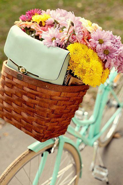 Pin by Ewa Kubiczek on enjoy the ride | Rower, Pomysły, Kwiaty