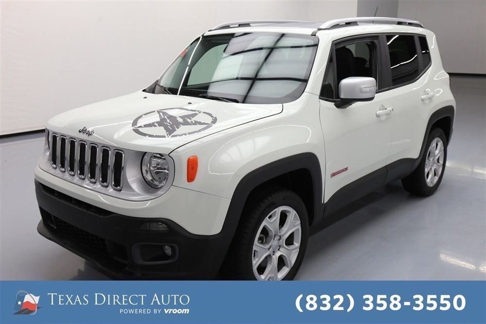 Jeep Renegade Limited Texas Direct Auto 2016 Limited Used 2 4l I4