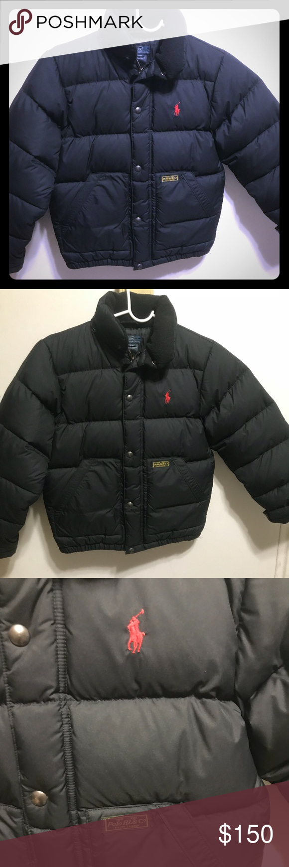 413fc82c7 Polo by Ralph Lauren Boys Puffer Jacket NWOT Sz 8 Brand new without tags  Polo By Ralph Lauren puffer jacket This super cute boys winter coat is  stylish ...