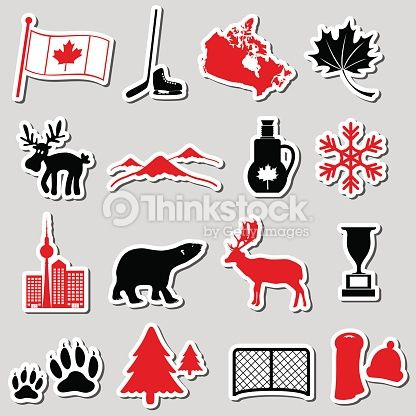 Image result for canada symbols | Canada | Canada country ...