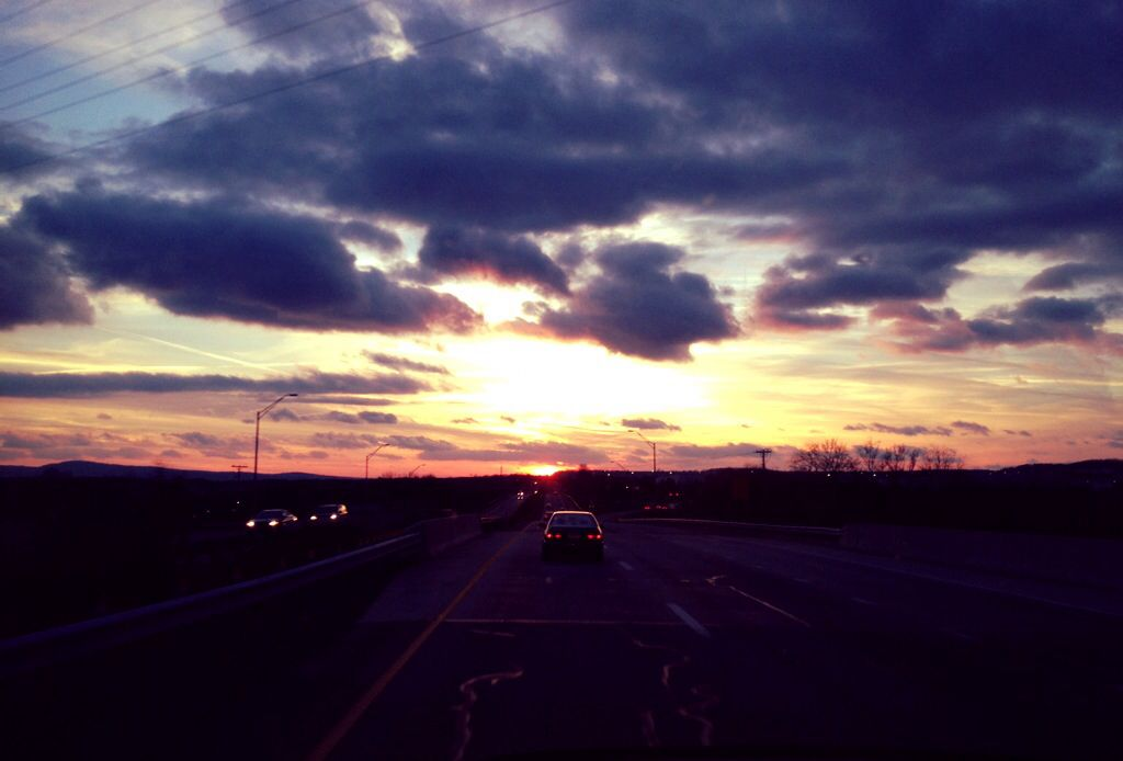Crazy east coast sunset