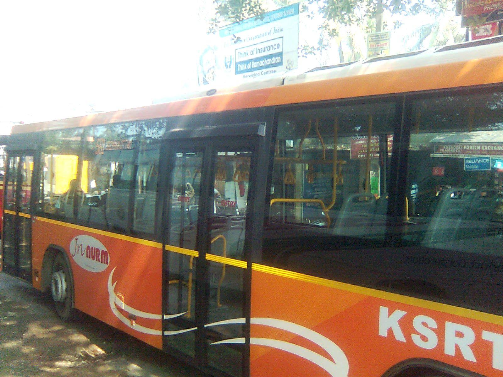 Low Floor Volvo Bus In Kazhakoottam Near Technopark Thiruvananthapuram Kerala India Thiruvananthapuram Pilgrimage Incredible India