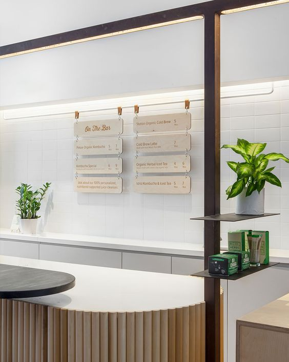 tranquil design with interplay of metal wood and tile rounded wood panels around