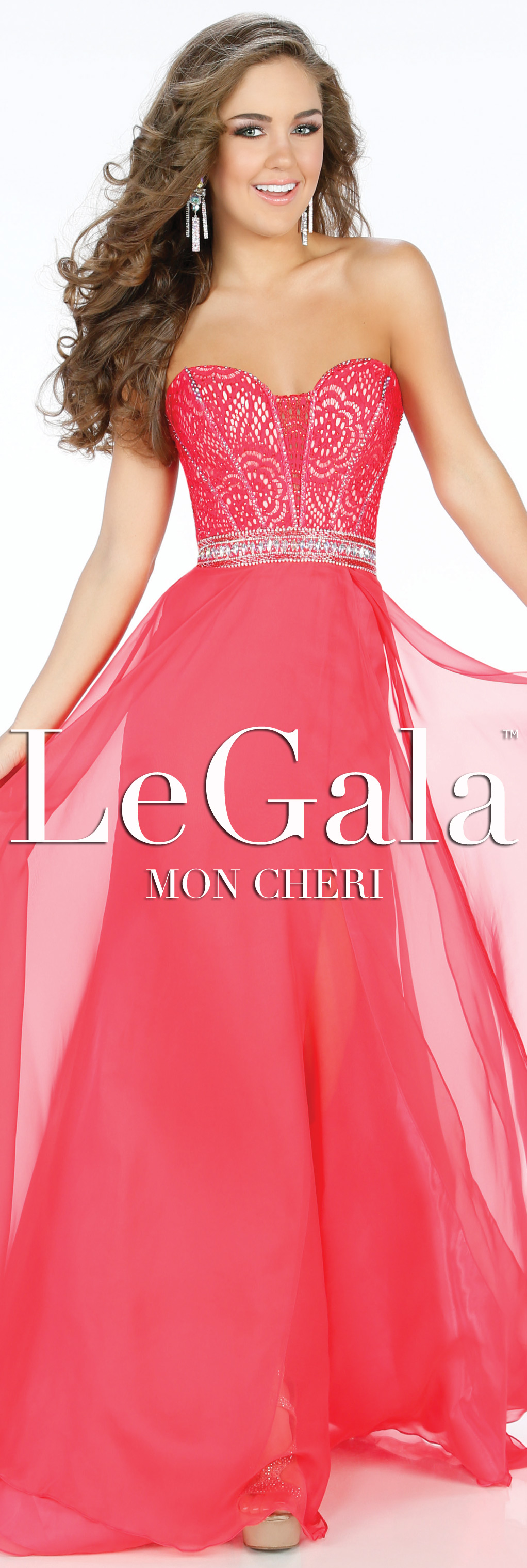 Spring 2016 Prom Dress by Le Gala by Mon Cheri style 116585 ...