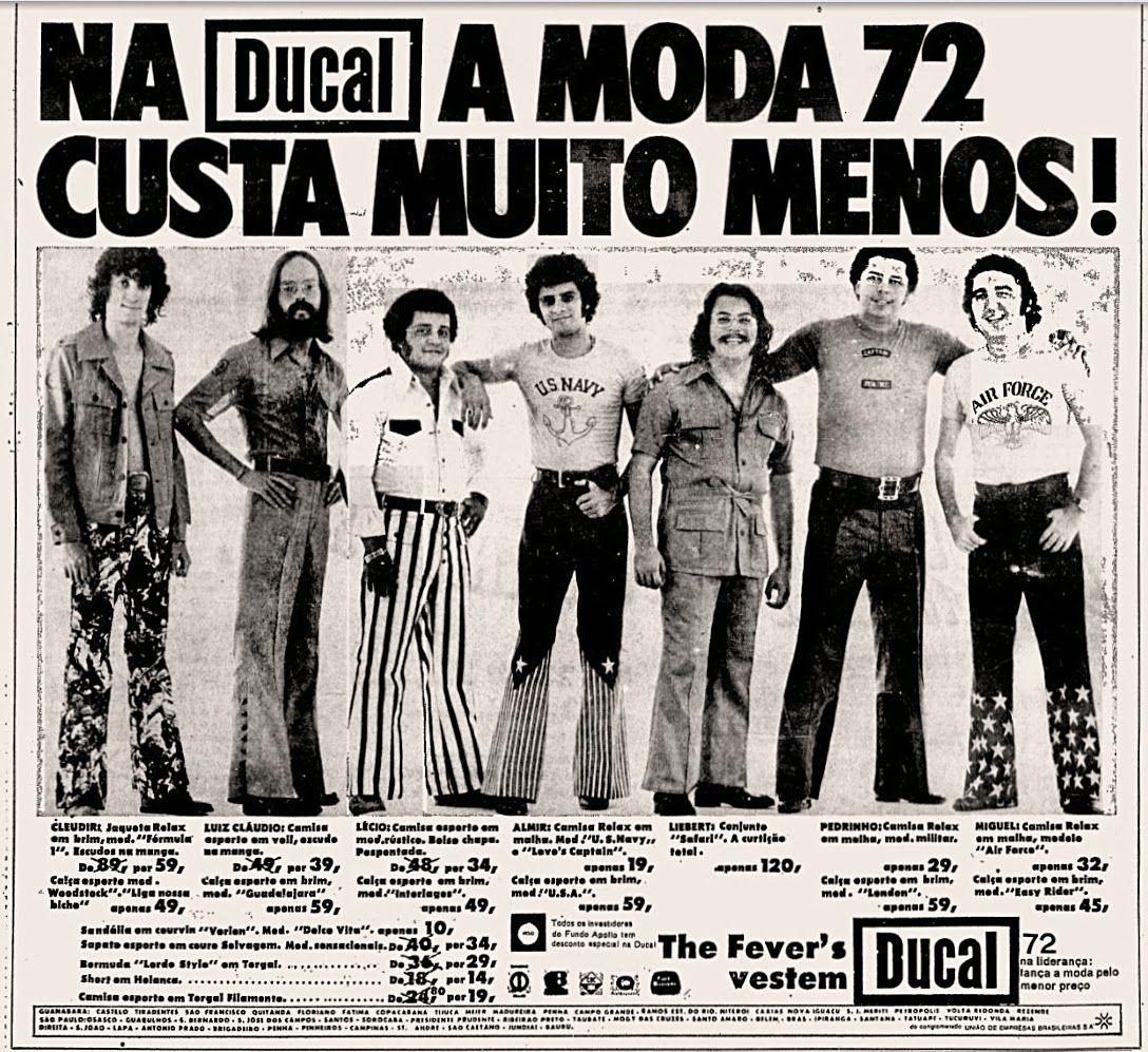 Ducal - Moda 1972 | Anúncios antigos, Propagandas vintage e Fotos ...